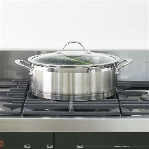batterie cuisine induction inox procook professional batterie de cuisine inox antiadhésive induction 10 pcs ebay