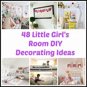 48 DIY Decorating Ideas For A Little Girl39s Room