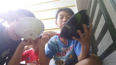 Sumpit Sumpit Makan Bayi challenge makan bubur pake sumpit