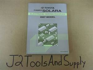 Genuine Toyota 2007 Camry Solara Dealership Shop