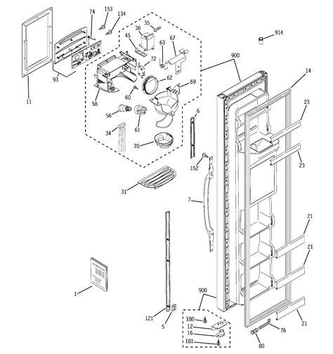 ge refrigerator p series parts model gssqgpeww sears partsdirect