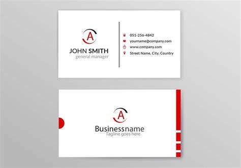 business card template  vector art