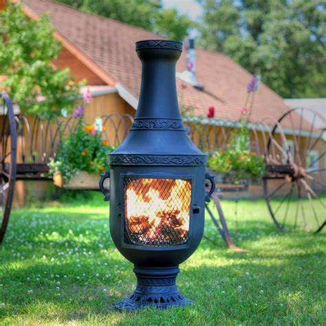Chiminea Outdoor Fireplace by Special Large Clay Chiminea Outdoor Fireplace Bistrodre