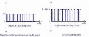 Class D Power Amplifier Circuit Diagram  Working