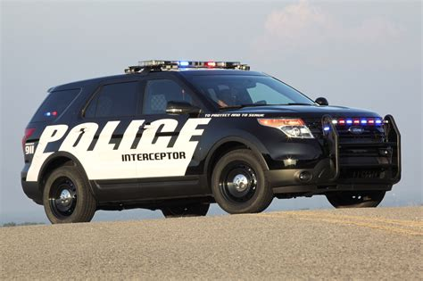 Ford Utility by Ford Introduces Ford Explorer Interceptor Utility