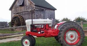 1955 Ford 960 Workmaster Tractor