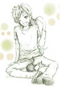 Cute Anime Cat Boy Drawings