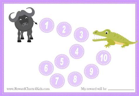 animal reward charts