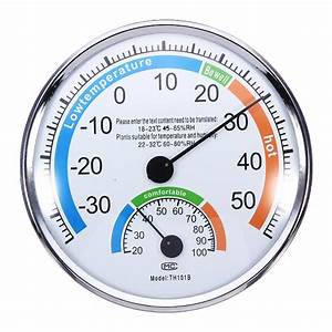 Thermometer and Hygrometer for Indoor And Outdoor Use ...