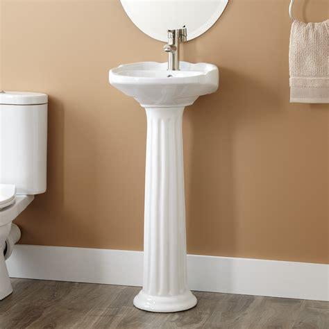 Pedestal Sink by Ultra Porcelain Pedestal Sink Bathroom