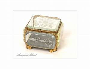 Boite A Bijoux En Verre : boite bijoux laiton ~ Farleysfitness.com Idées de Décoration