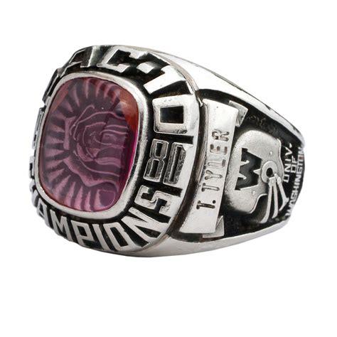 Lot Detail  1981 Washington Huskies Rose Bowl Player Ring. Evil Rings. Angelix Engagement Rings. Tall Engagement Rings. Blue Dragon Rings. Gothic Style Wedding Rings. Solid Wedding Rings. Tolbert Wedding Rings. 3.5 Carat Wedding Rings