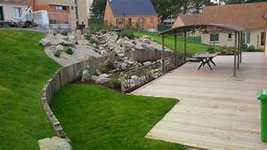 jardin en pente idees deco jardin pinterest With jardin en terrasse en pente