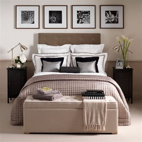 Bedroom Decorating Ideas Uk by Neutral Hotel Chic Bedroom Bedroom Decorating Ideas