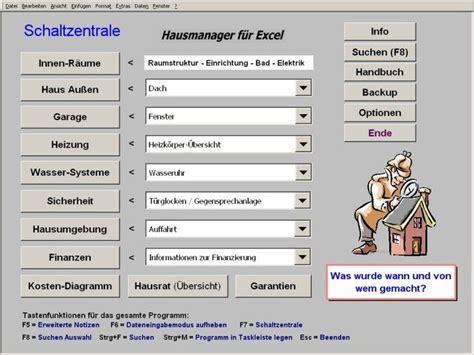 fenster aufmaß software freeware hausmanager f 252 r excel freeware de