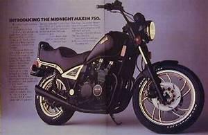 Yamaha Midnight Maxim 750  U0026 Virago Motorcycle Ad Layout