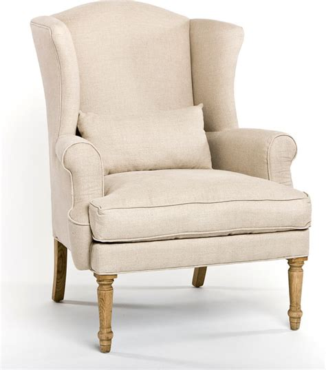 loire wingback chair farmhouse armchairs and accent