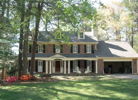 Colonial Front Porch Designs by Lovely Front Porch Addition To Colonial Home