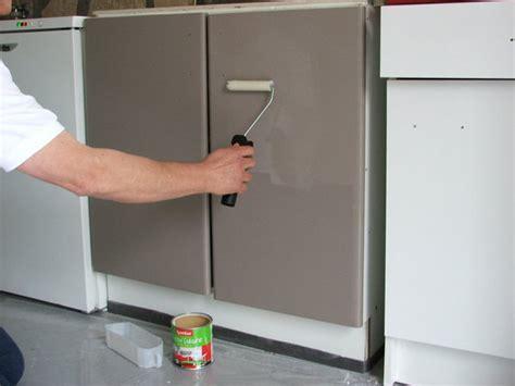 meuble de cuisine repeint repeindre ses meubles de cuisine galerie photos d