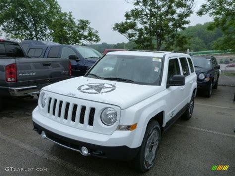 jeep patriot white 2014 bright white jeep patriot freedom edition 4x4