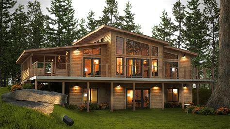 Home Design 7.0 : Okanogan Timber Frame Home Floor Plans