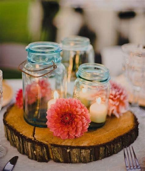 Tischdeko Mit Einmachgläsern by Rustikale Tischdeko Marmeladenglas Blumen Windlichter