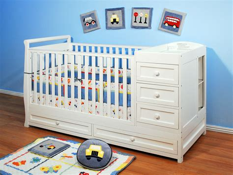 crib and changing table combo afg daphne i 2 in 1 crib and changer combo