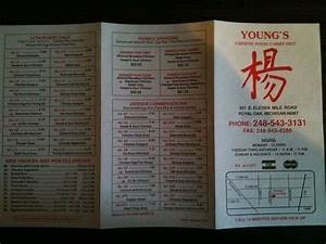 Young's Chinese Food Carry out Chinese Restaurant 921