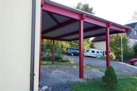 Doppelcarport Als Parkplatzüberdachung  Baumberger Bau Ag