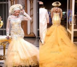 traditional wedding gowns traditional wedding dresses 2015 gold tulle pearls beaded bateau neck sleeves