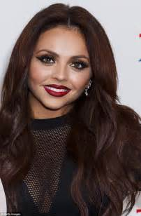 hair extensions on hair mix 39 s jesy nelson wears leather hotpants and