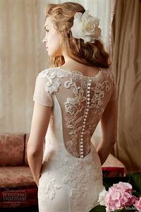 miamia alan hannah spring bridal collection gorgeous With button back wedding dress