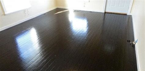 paint wood floors todays homeowner