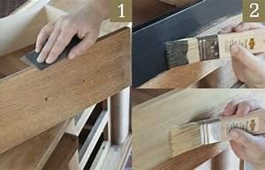 Peinture A Effet Pour Meuble : repeindre un meuble avec une peinture effet m tal deco cool ~ Melissatoandfro.com Idées de Décoration
