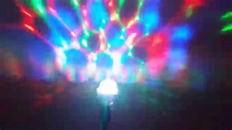disco light bulb sharper image light rotating disco bulb