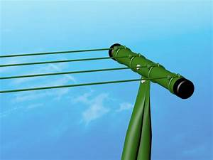 Pali Stendibiancheria Plastificato Verde H 200 Cm Con Filo