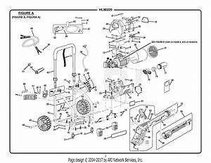 Homelite Hl80220 Electric Pressure Washer Parts Diagram For Figure A