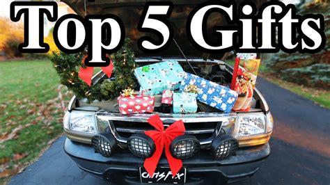 top 5 christmas gift ideas for car guys youtube