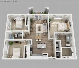 small 1 bedroom apartment design small apartment floor With three bedroom apartment planning idea