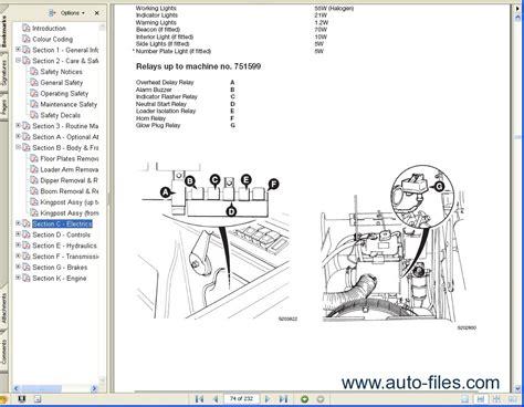 jcb service manuals  repair manuals  wiring