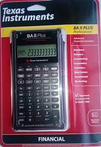 Texas Instrument Ba Ii Plus Instruction