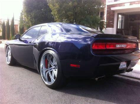 purchase   widebody dodge challenger rt showcar