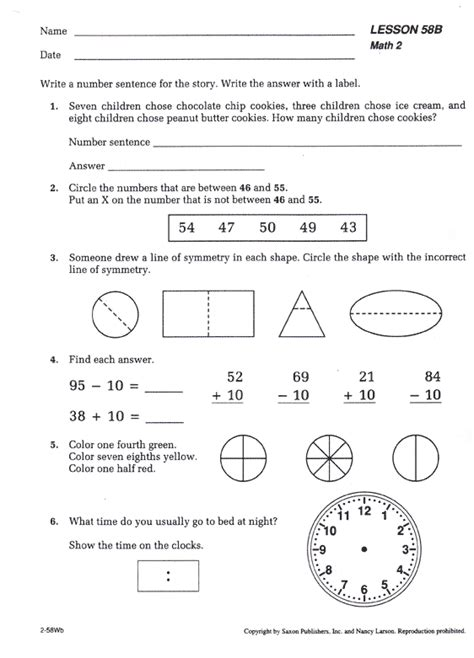 saxon math worksheets saxon math worksheets grade 6 them and try to solve