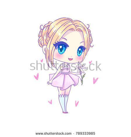 Big Anime Eyes Kawaii Big Eyed Anime Girl Stock Images Royalty Free Images