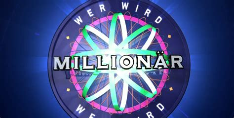 Is a german game show based on the original british format of who wants to be a millionaire?. View Wer Wird Millionär Heute Live Pictures