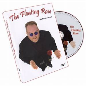 The Floating Rose by Kevin James w/DVD magic trick close ...