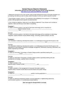 What To Write In Objective Column In Resume by Free Chronological Resume Exles How To Write A