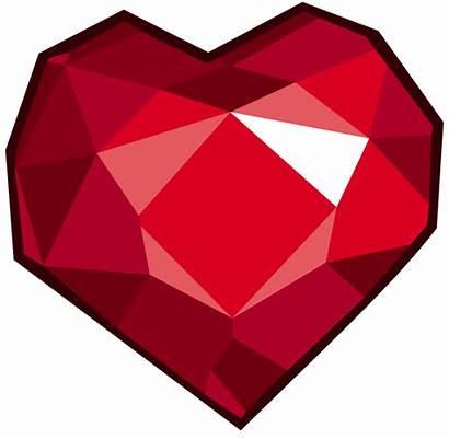 Heart Ruby Crystal Mlp Stone Fire Cutie