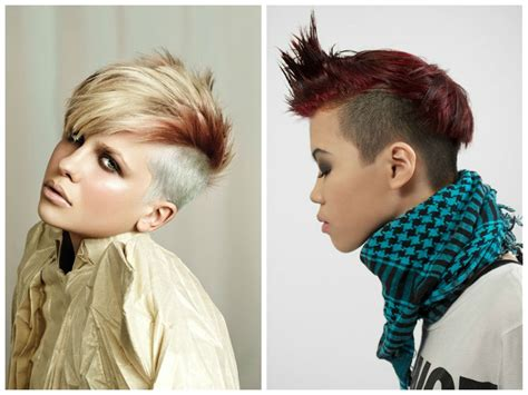 Hairstyle Ideas With Shaved Sides