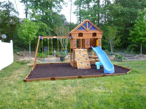 backyard playground ideas diy swing sets and slides for amazing playgrounds